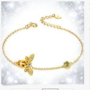❤️gorgeous delicate 925 stamped citrine gemstone